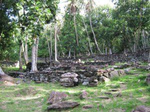 contreforts marae Maeva